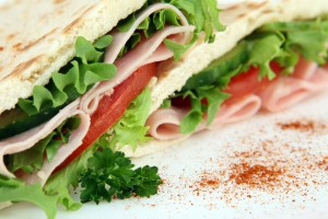 Sandwiches are a healthy and affordable lunch.