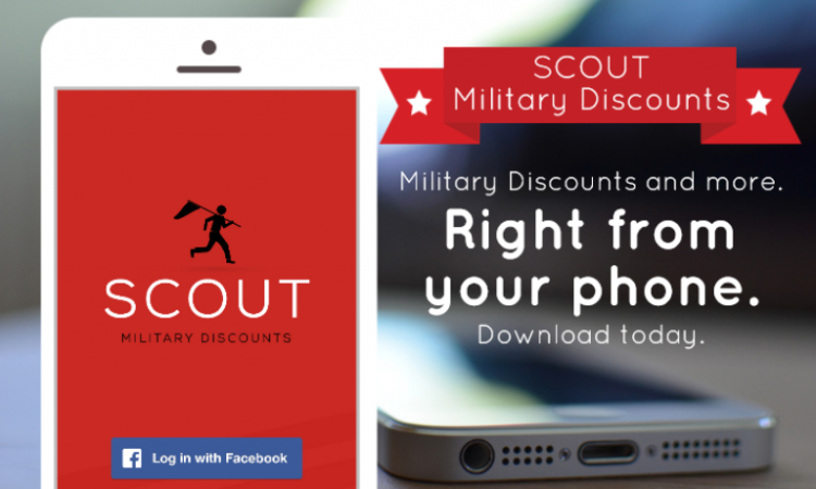 SCOUT Military Discounts App Makes Finding Discounts Easy